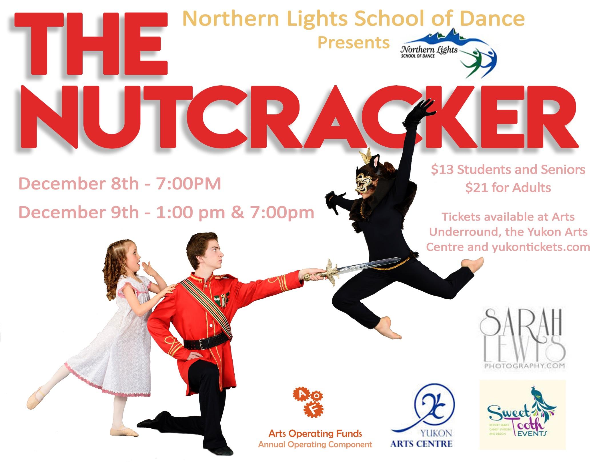 Yukon Arts Centre   Description - The Nutcracker